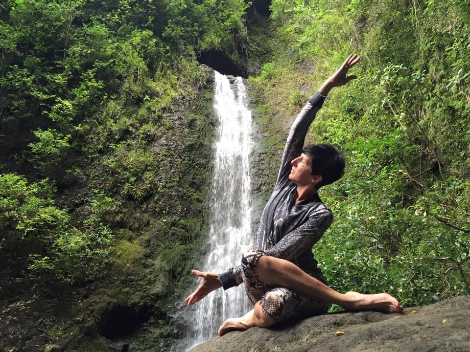 pure yoga in nature